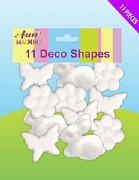 11 Pack Of Deco Shapes