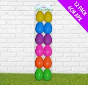 12 Pack Of Plastic Eggs