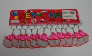 12Pk Cupcake Keyrings