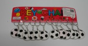 12Pk Football Keyrings