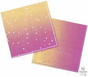 Rose Ombre Party Napkins
