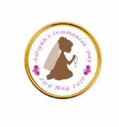 15Pk 1st Communion Girl Coins