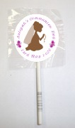 15 1st Communion Girl Lollipop
