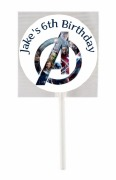 15Pk Avengers Lollipops
