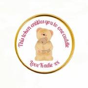 15Pk Bear Cuddles Coins
