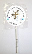15PK Boy Cross Lollipops