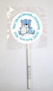 15Pk Christening Boy Lollipops