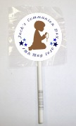 15 1st Communion Boy Lollipops