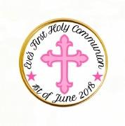 15PK Girl Communion Choc Coins