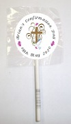 15Pk Girl Cross Lollipops