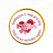 15Pk Hugs & Kisses Coins