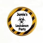 15Pk Lockdown Chocolate Coins