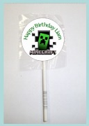 15Pk Minecraft Lollipops