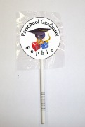 15Pk Preschool Grad Lollipops