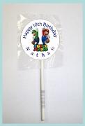 15Pk Super Mario Lollipops