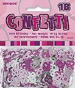 18th Pink Confetti