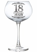 18th Gin Glass