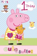 1 Today Peppa Pig Card