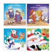 20Pk Cute Christmas Cards