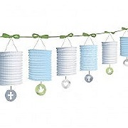 Communion Blue Lantern Garland