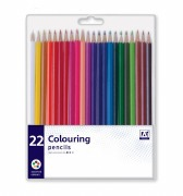 22Pk Colouring Pencils