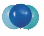 "24"" Blue Balloons"