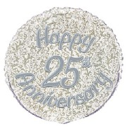 25th Anniversary Foil Balloon