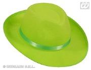 Neon Felt Hat green