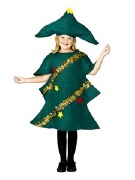 Girl Christmas Tree Costume