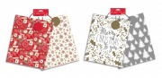 2 Pack Of Christmas Gift Bags