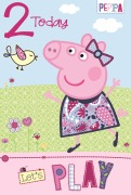 2 Today Peppa Pig Card