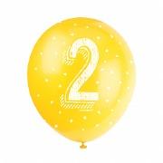 2nd Birthday Balloons