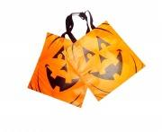 2Pk Halloween Tote Bags