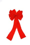 30.5cm Red Christmas Bow