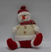 30cm Plush Snowman