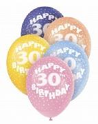 30th Birthday Helium Balloons