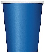 Royal Blue Paper Cups