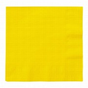 Sunflower Yellow Paper Napkins