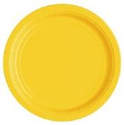 Sunflower Yellow Paper Plates