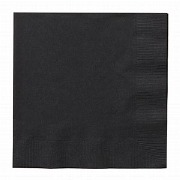 Midnight Black Napkin