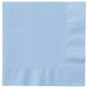 Baby Blue Paper Napkins