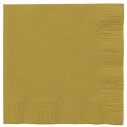 Gold Paper Napkins