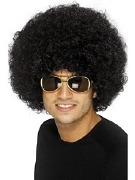 Afro Black Wig