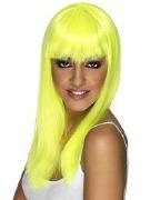 Neon Yellow Wig