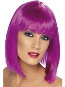 Neon Purple Wig