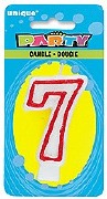 Deluxe Numeral Candle 7