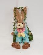 36cm Mr & Mrs Rabbit Swing