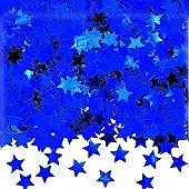Blue Stardust Confetti