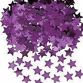 Purple Stardust Confetti