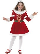 Little Girl Santa Costume